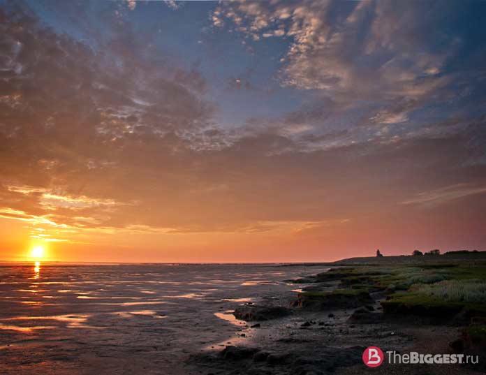 Ваттовое море - одно из мест, которые Вы должны увидеть в Нидерландах
