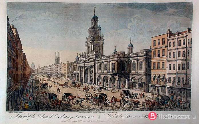 Королевская биржа в Лондоне. CC0