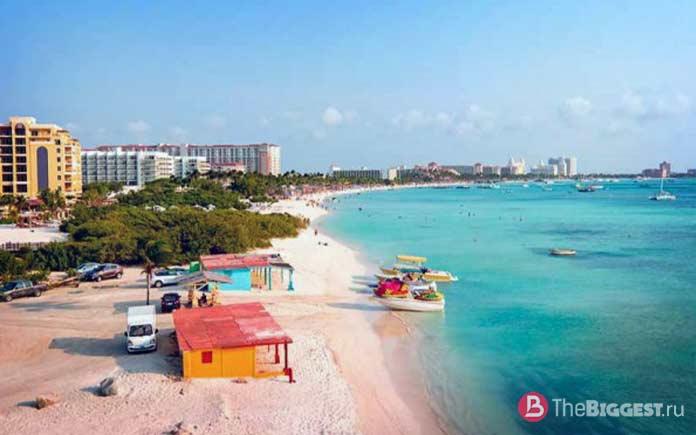 Орлиный пляж - один из самых инстаграмных пляжей мира