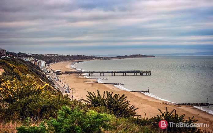 Пляж Борнмута - один из самых инстаграмных пляжей мира