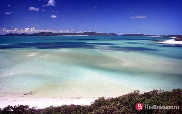 Уайтхейвен Бич - один из самых инстаграмных пляжей мира