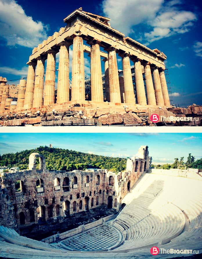 Старейшие города Европы: Афины. CC0