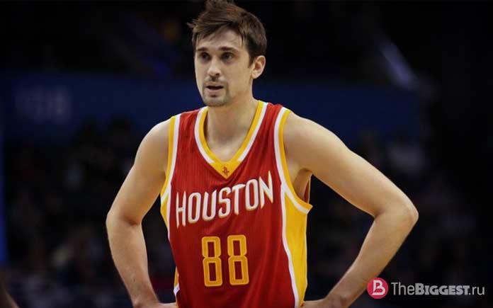Лучшие российские баскетболисты в истории НБА: Алексей Швед