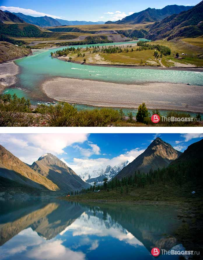 Алтайские горы находятся в списке ЮНЕСКО в России. СС0
