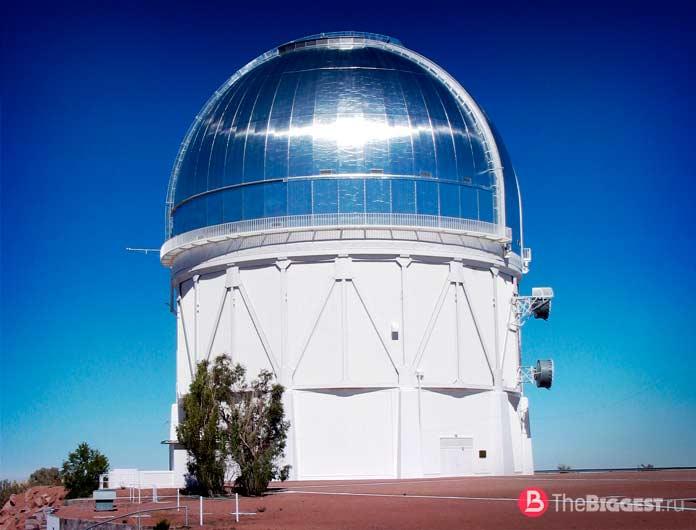 Самые большие зеркала в мире: БТА. СС0