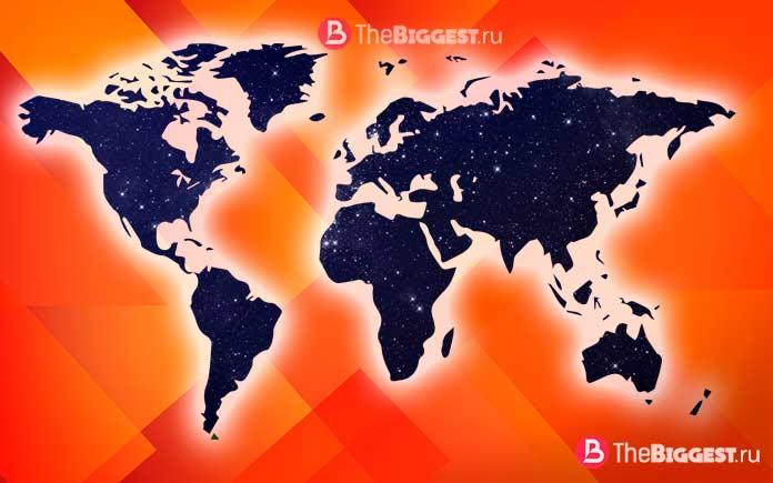 10 стран, которые могли бы существовать. CC0