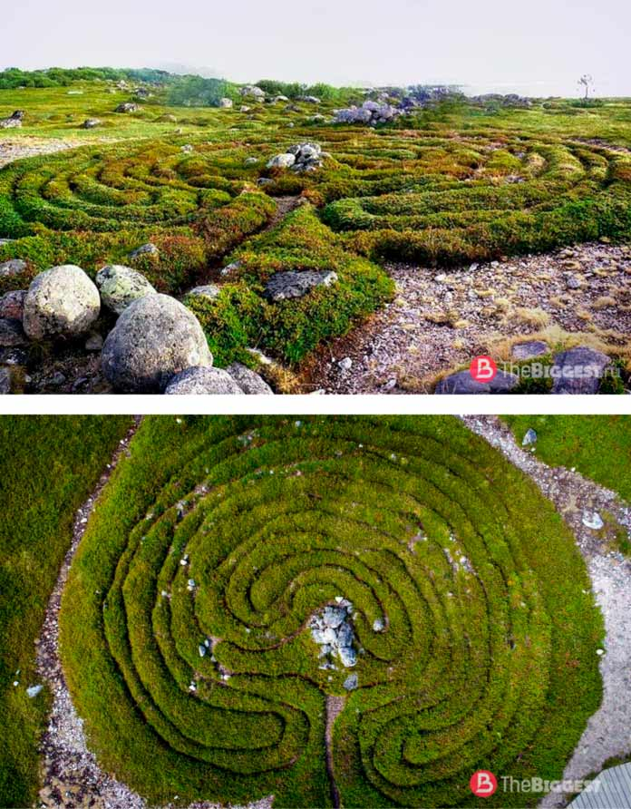 Лабиринты Заяцкого острова