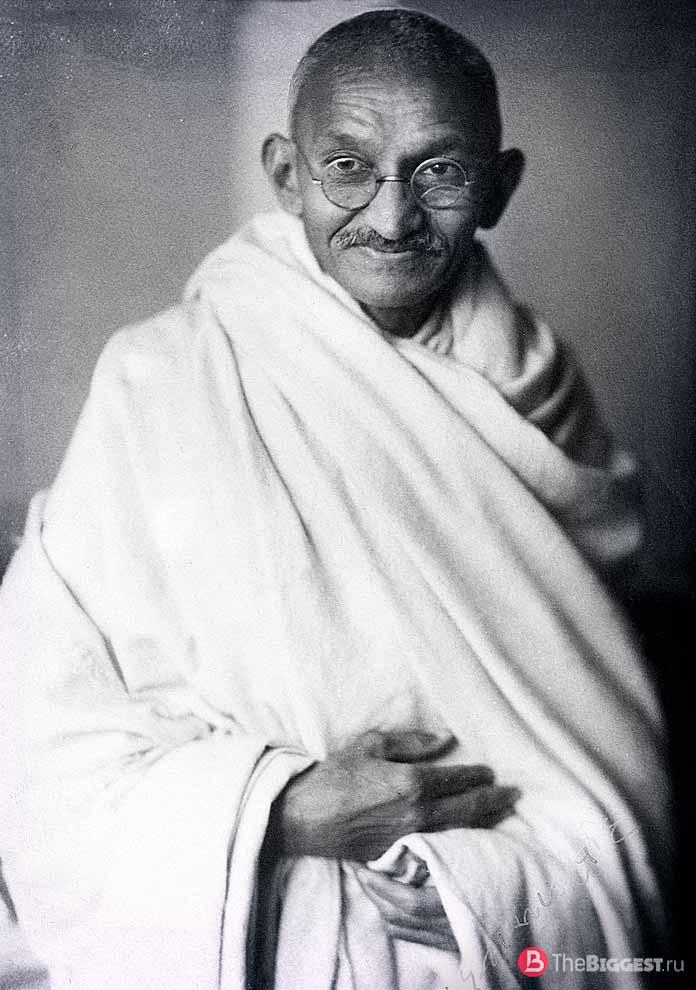 Махатма Ганди. СС0