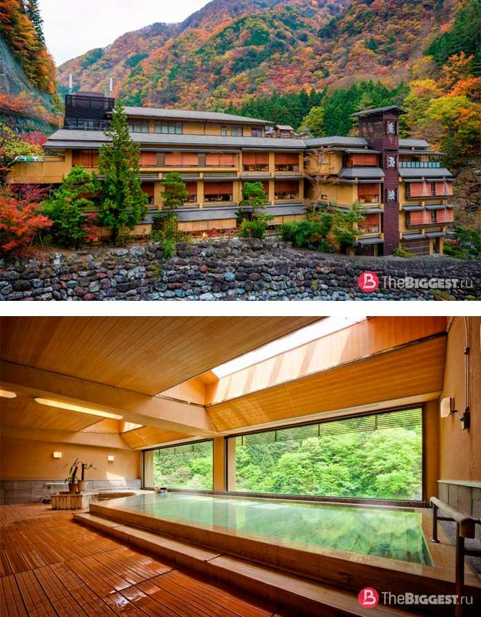 Старейшие компании в мире: Nishiyama Onsen Keiunkan