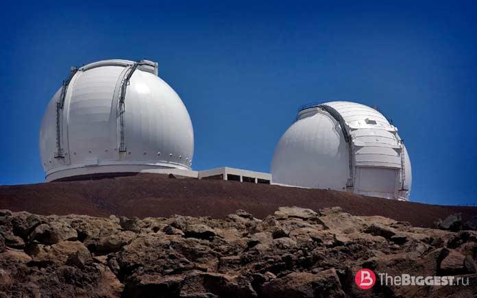 Самые большие зеркала в мире: Обсерватория Кека