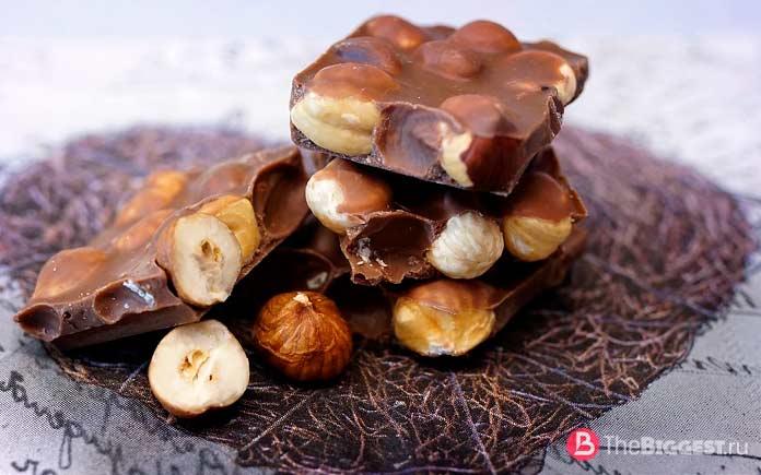Орехи в шоколаде. CC0