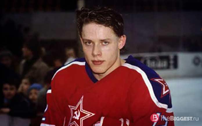 Российские хоккеисты НХЛ: Павел Буре