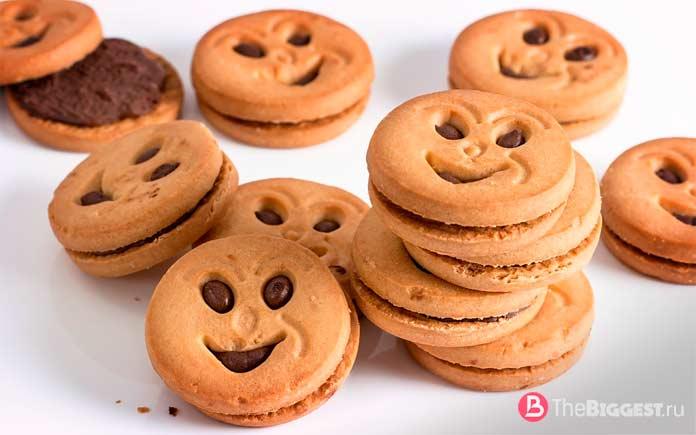 Продукты, которые вызывают привыкание: Печенье. CC0