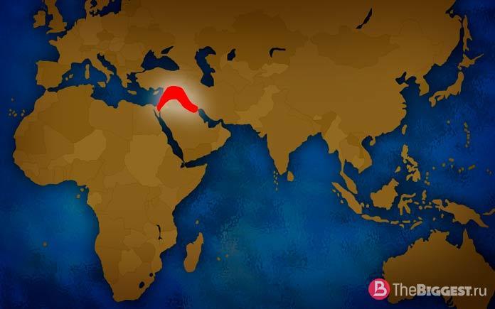 10 стран, которые могли бы существовать: Плодородный полумесяц. CC0
