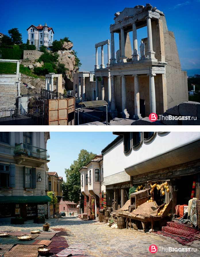 Старейшие города Европы: Пловдив. CC0