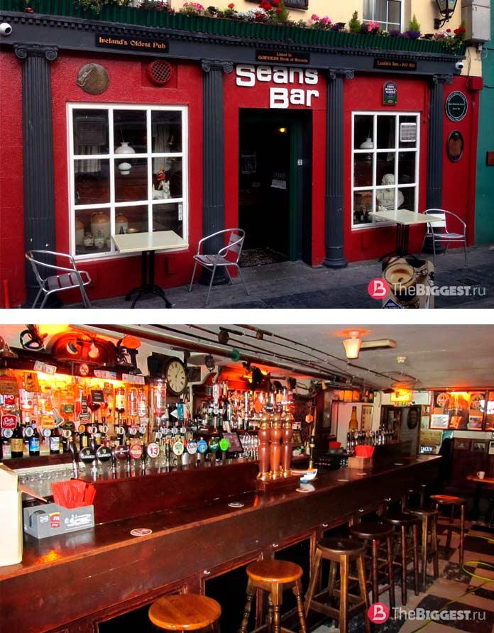 Старейшие компании в мире: Sean's Bar