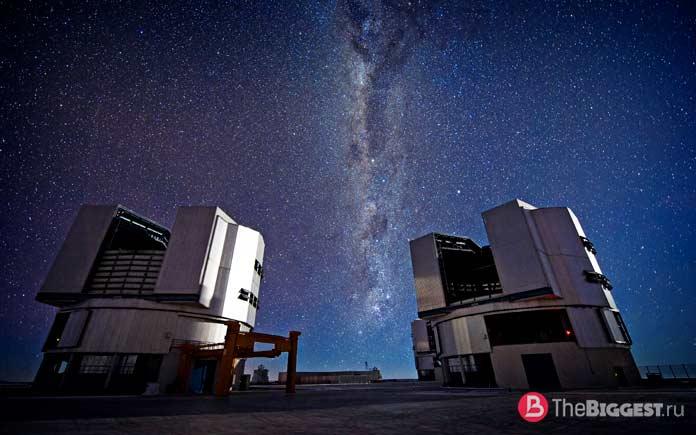 Телескоп VLT. СС0