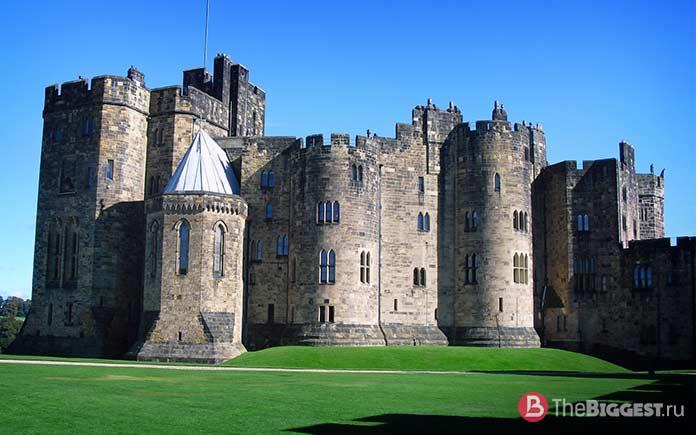 18 реальных мест из Гарри Поттера: Замок Алник. CC0