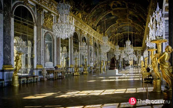 Зеркальный зал Версаля. СС0