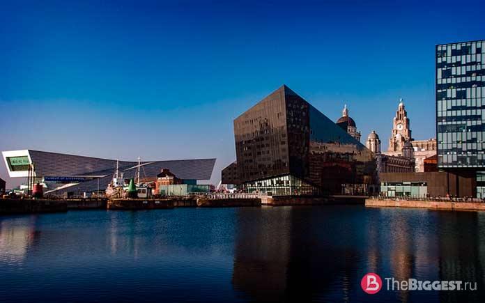 Список самых посещаемых городов Великобритании: Альберт-Док. СС0