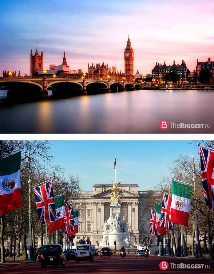 Лондон - самый популярный город Великобритании. СС0