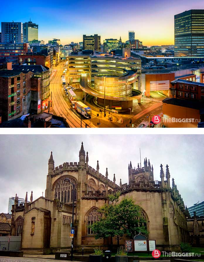 Манчестер - один из самых популярных городов Великобритании
