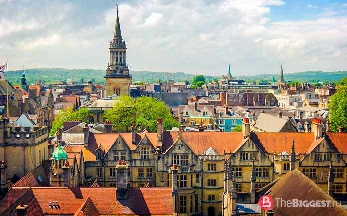 Список самых популярных городов Великобритании: Оксфорд. СС0
