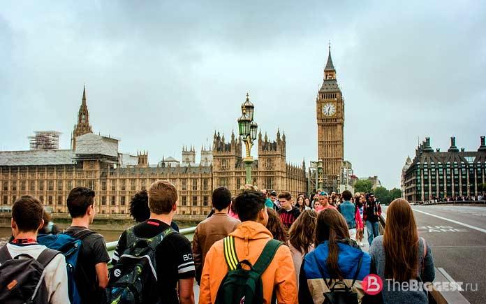 Список самых популярных городов Великобритании. СС0