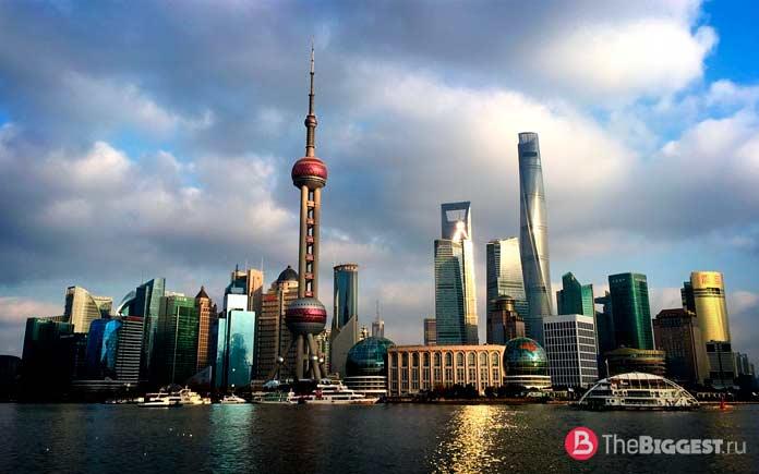 Шанхай - один из самых богатых городов Китая. СС0