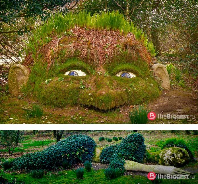 Достопримечательности Англии: Затерянные сады Хелигана CC0