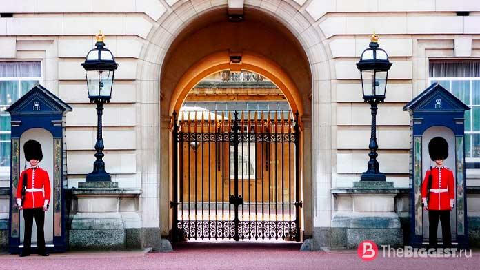 Гвардейцы букингемского дворца. CC0