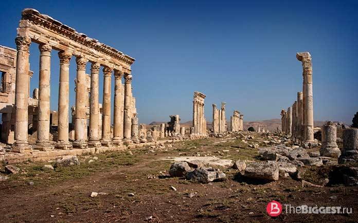 Прекрасные города, разрушенные войной: Апамея