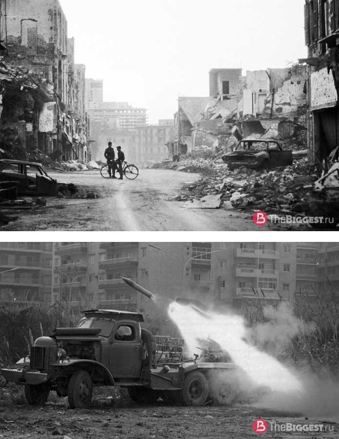 Бейрут в войне