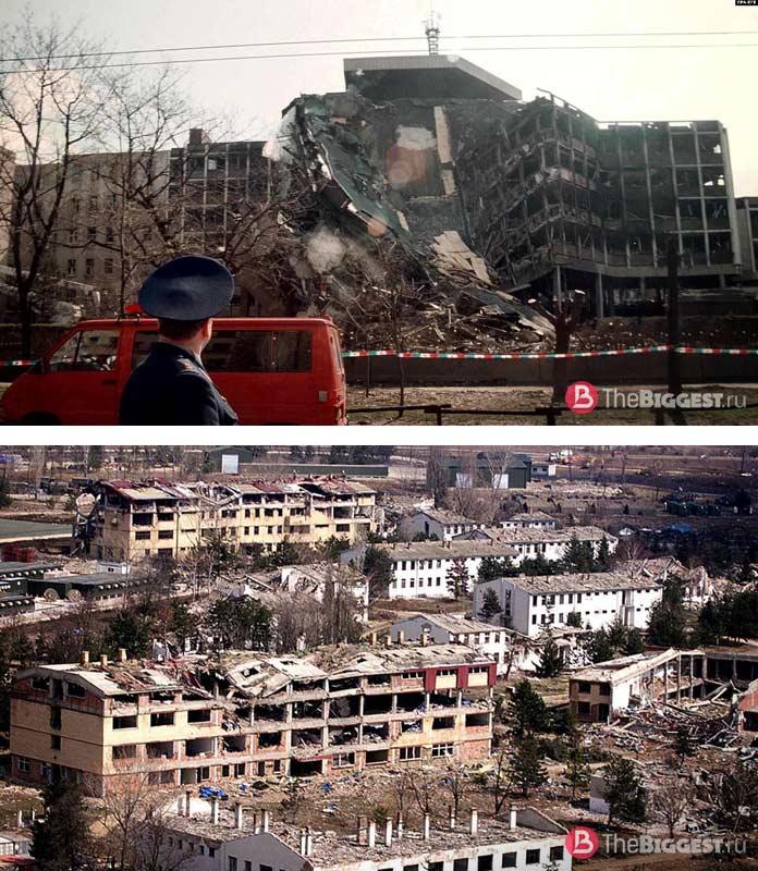Красивые города, разрушенные войной: Белград