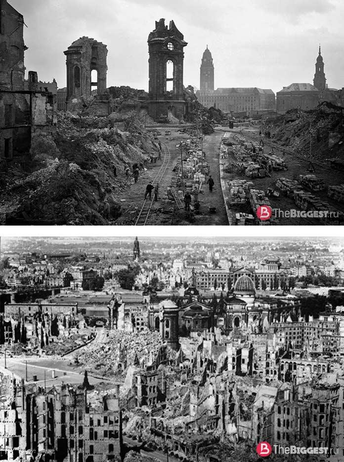 Прекрасные города, уничтоженные войной: Дрезден
