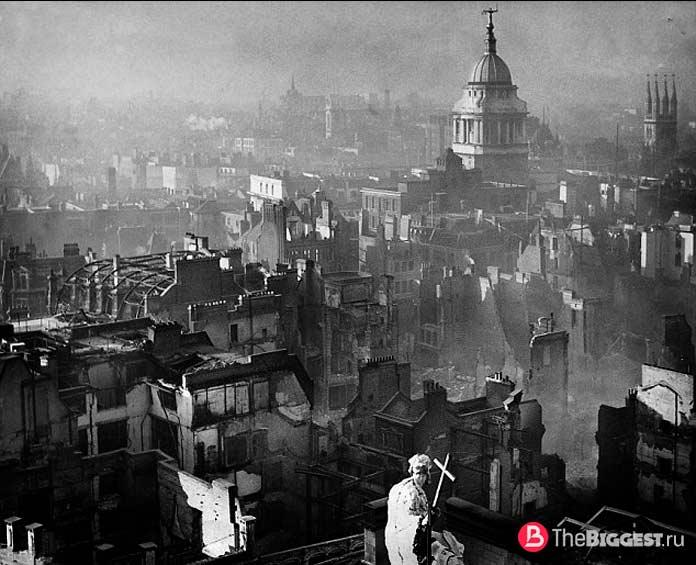 Бомбардировка Ковентри, Англия