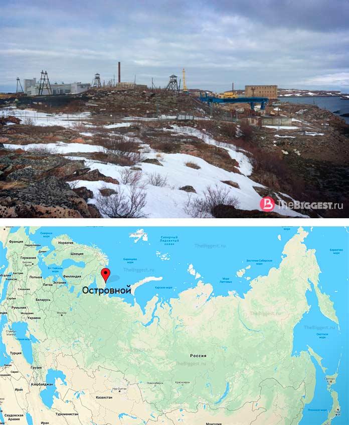 ЗАТО Островной - один из закрытых городов России