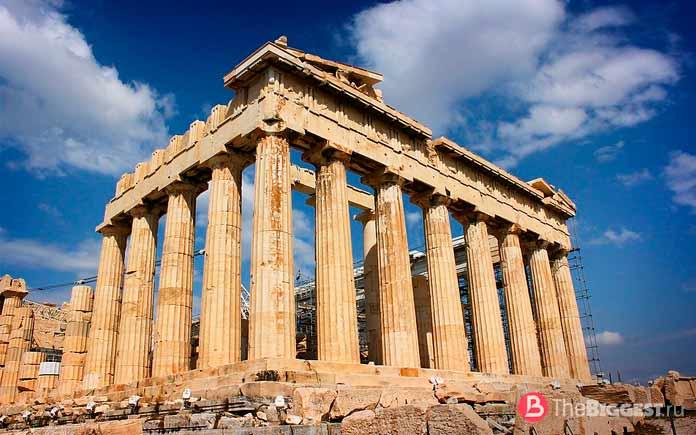 10 тайн античной Греции: Парфенон. СС0