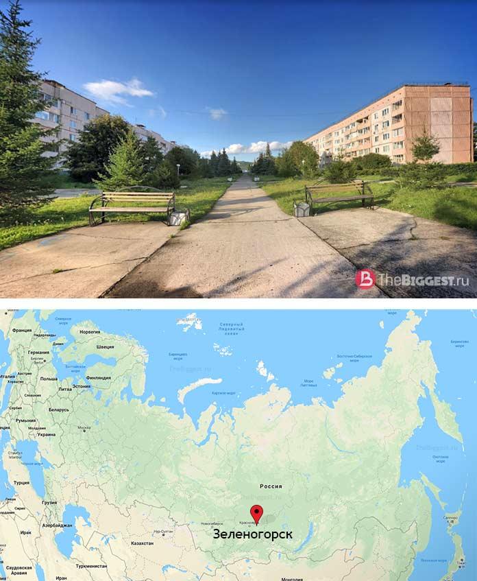 ЗАТО Зеленогорск - один из закрытых городов России