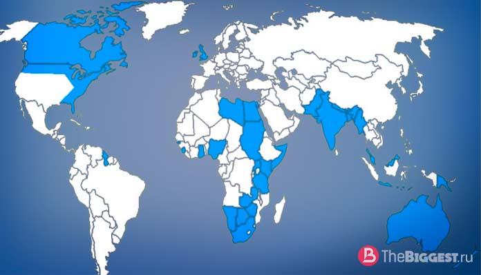 Британская империя - одна из самых больших империй