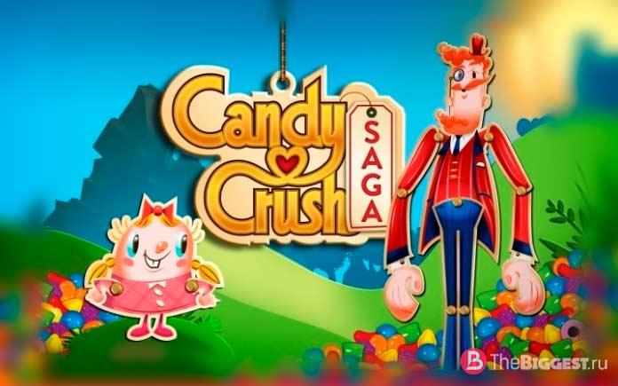 Candy Crush Saga - одно из самых весёлых приложений десятилетия