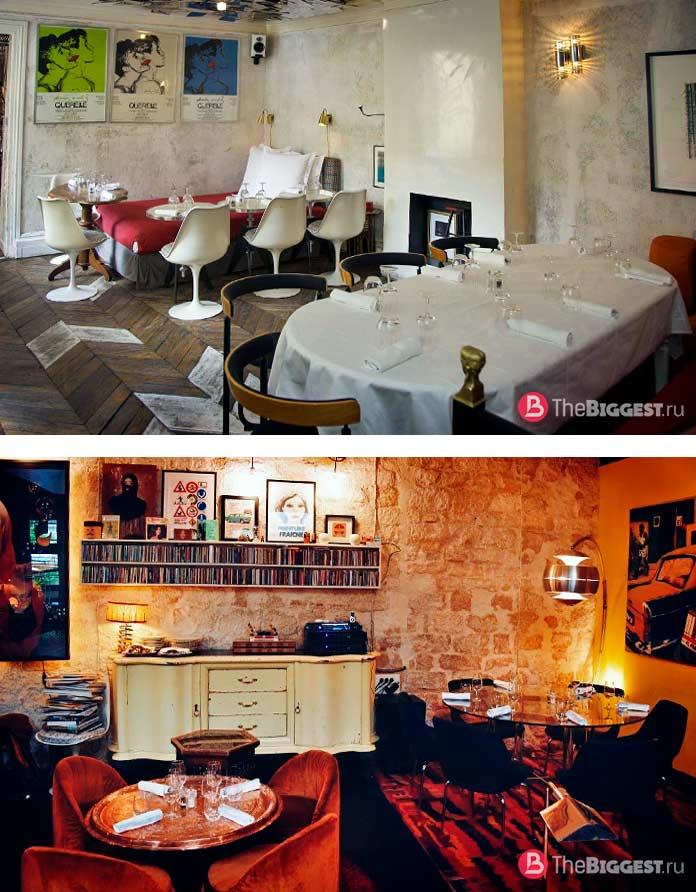 Деррьер в Париже - один из самых «инстаграммных» ресторанов Франции