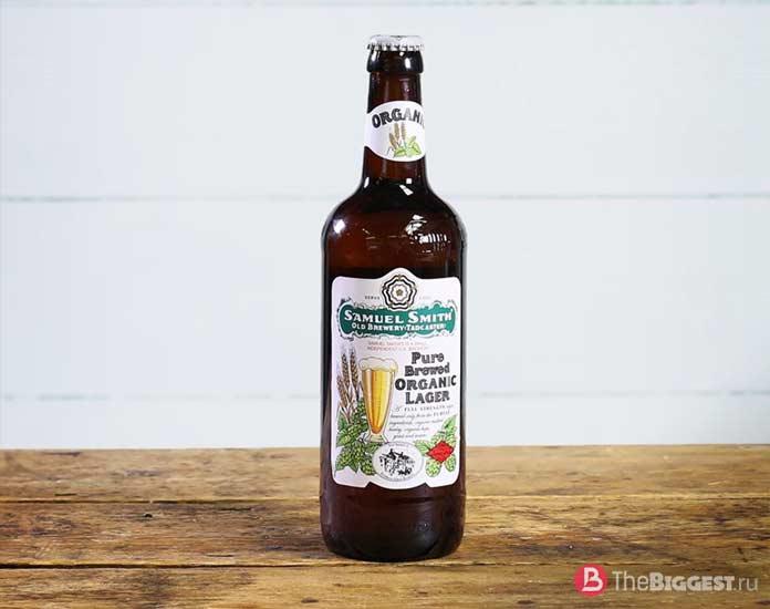 Популярные сорта пива: Sam Smith's