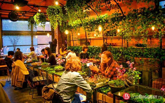 Цветочный рынок - один из самых «инстаграммных» ресторанов мира