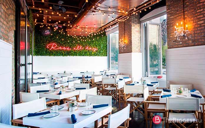 The Hampton Social - один из самых «инстаграммных» ресторанов США