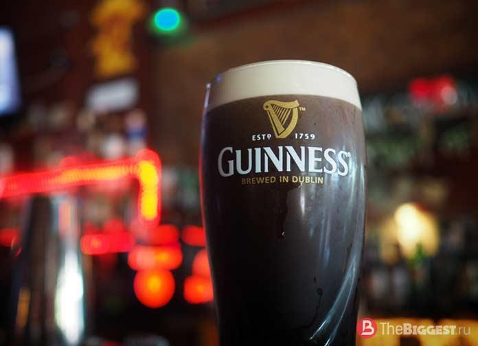 Лучшие сорта пива: Guinness