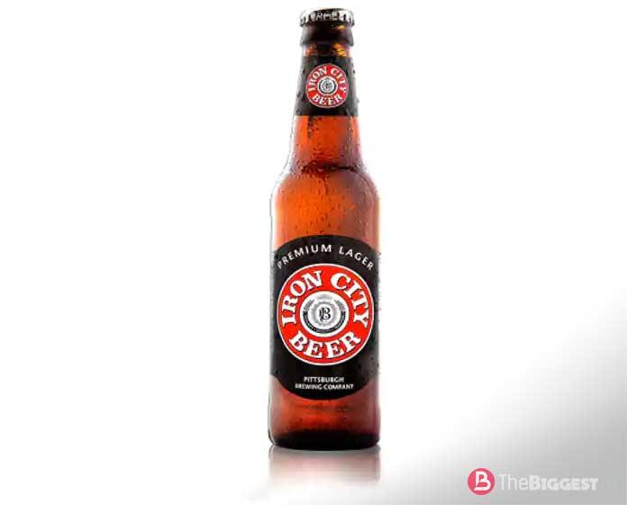 Самые популярные сорта пива: Iron City