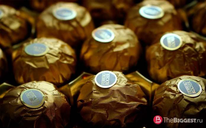 Лучшие производители шоколада: Ferrero Group. CC0