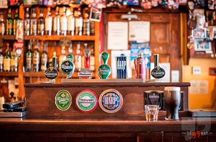 Рейтинг потребления пива: Ирландия. CC0