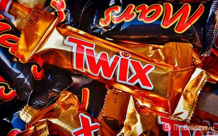 Самые большие производители шоколада: Mars Incorporated. CC0